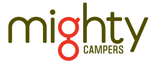 mighty campervans logo